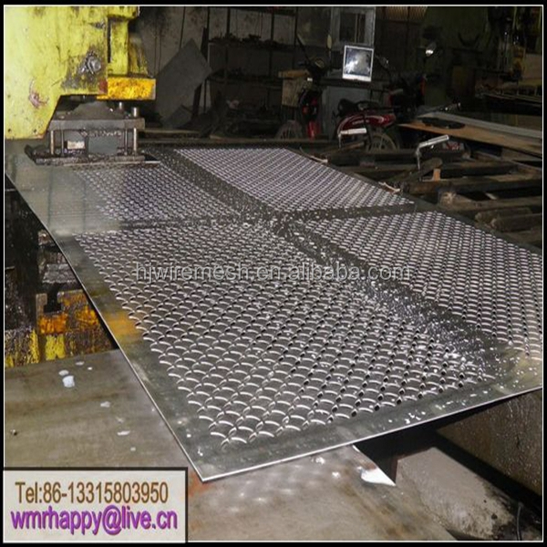 Colorful Aluminum Perforated sheets / anodized Aluminum Perforated metal sheet