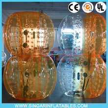 Hot ! Colourful Bubble Football Inflatable Body Zorbs Ball Inflatable Bumper Ball, 2016 loopyball bubble soccer