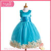 Pure Color short cocktail chiffon dresses flower girl dress