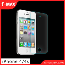 High class 2.5d High Clear Explosion-proof anti-fingerprint For Iphone 4 Tempered Glass Screen Protector