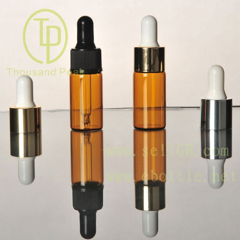 small vial 3ml 4ml 5ml 10ml perfume amber/brown glass bottles for e liquid/cosmetic
