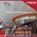 Custom interior decoration aluminum ceiling tile