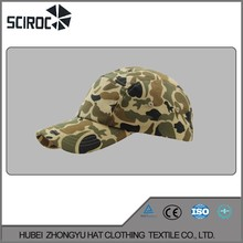 Fashion Sport With 5 Panel Mesh Cap Camo Cap