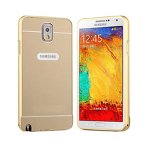 Metal Frame Bumper Acrylic PC Back Case Cover For Samsung Galaxy Note 3