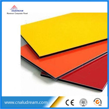 advanced construction material / exterior wall aluminum composite panel / plate alucobond price