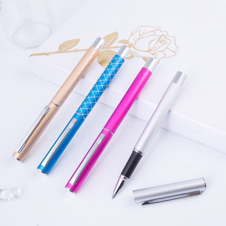 promotion metal pen clips for free logo high quality metal twist ball pen Free sample