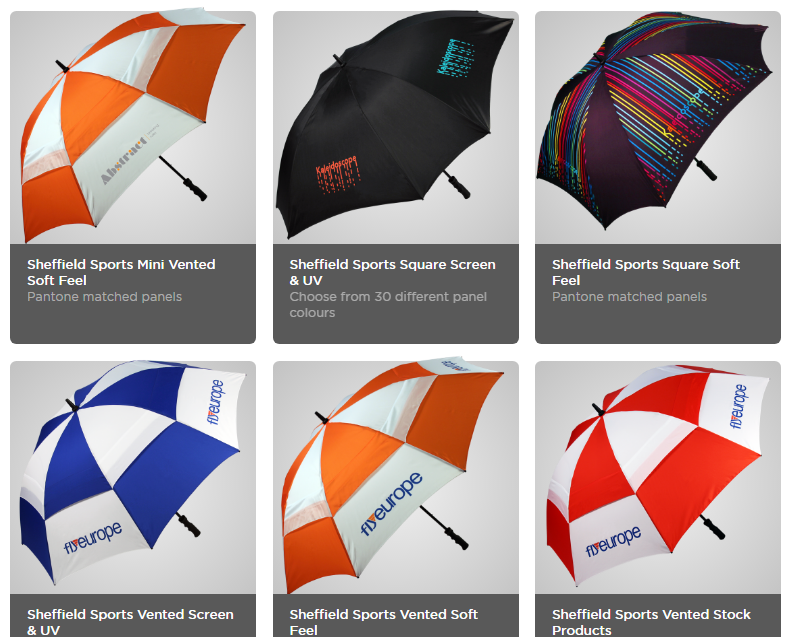 Windproof straight automatic open golf umbrella