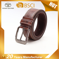 New Design High Quality Causal Pu Leather Men Belt From Wenzhou Factory