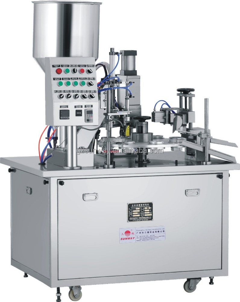 Toothpaste Cosmetics Cream Plastic Tube Filling and Sealing Machine Guangzhou