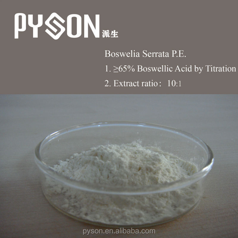100% natural Boswellia extract powder