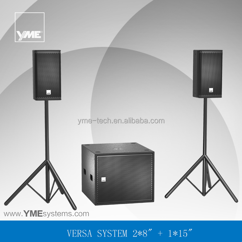 Versa Sys 1 pa sound system coaxial structure speaker professional sound portable sound system