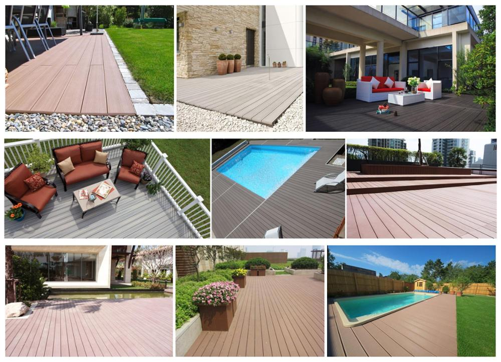 18mm Insect-resistance bamboo decking supplier