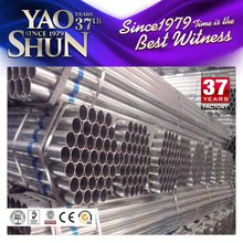 Prime quality Q195 pipes/galvanized steel pipe/construction materials
