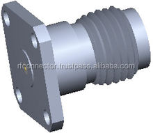 TNCA Field Replaceable Flange Connectors