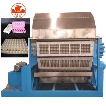 low price Full Automatic pulp CE paper 30 eggs tray making machine