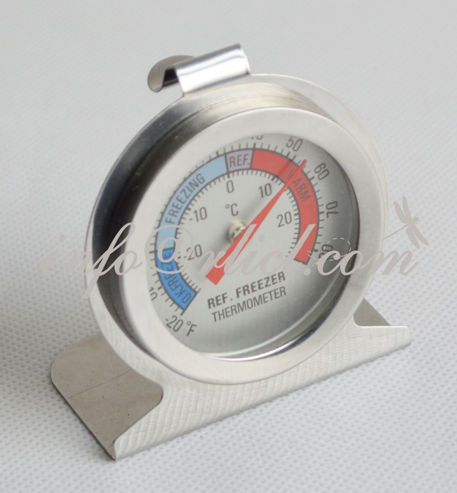 -30~30 <strong>C</strong> Refridge Freenzer Mechanical Thermometer Homebrew Wine House Stainless Steel Temperature Sensor Bar Accessories