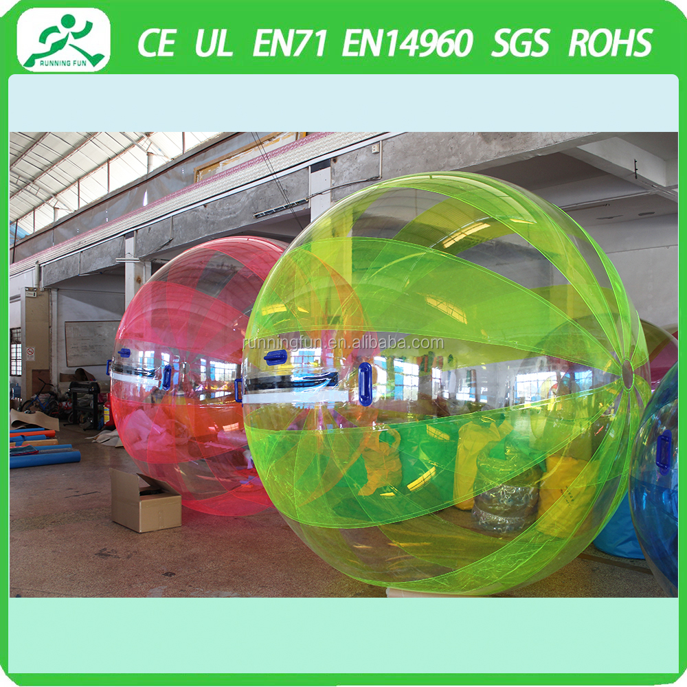 China manufacture Wholesale Inflatable Water Walking Ball, inflatable giant water balls football,giant water hamster ball