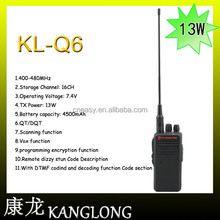 10W Portable Security Guard Equipment Two Way Radio