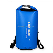 500D pvc tarpaulin 20L waterproof dry bag