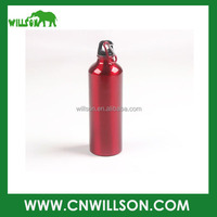 Metal Aluminium Sport Insulated Water Drink Bottle With Carabiner 750ml