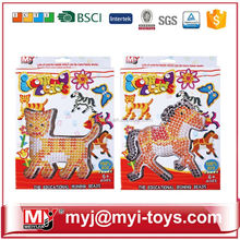 Direct selling plastic educational toys diy fused beads nontoxic amusement park toy BT-0054A