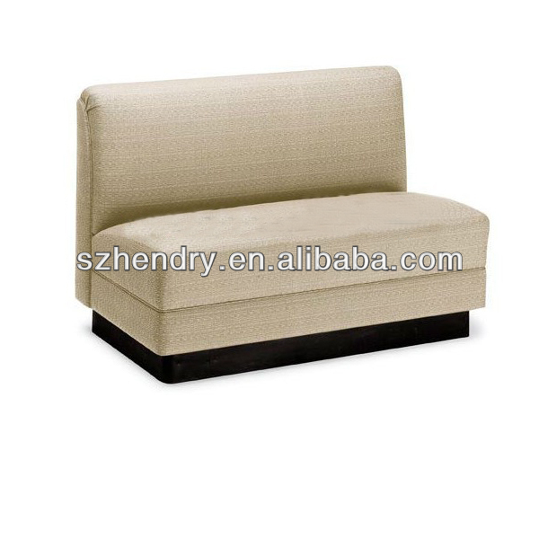 simple design restaurant sofa booth wholesale
