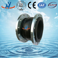 Good sealing performance single sphere rubber expansion joint