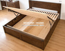 New style low price wood double bed designs wooden bed