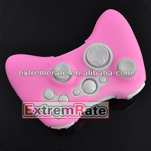 Many colors silicone soft case skin for xbox 360 wireless controller pink