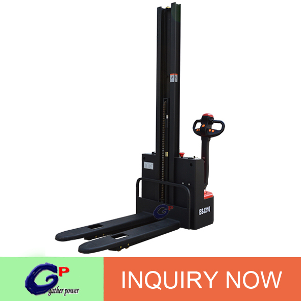 push and pull hand stacker lift up and down electric power
