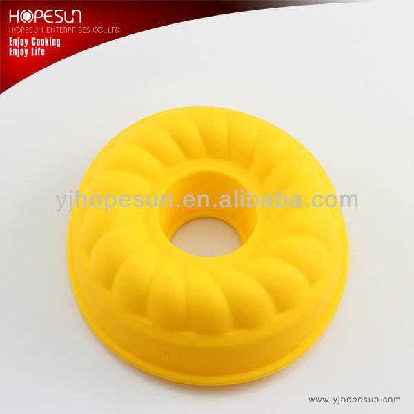 High quality silicone round-shaped cake mold