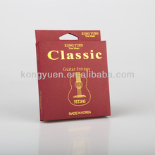 good nylon and silver plated good music sound classical guitar strings