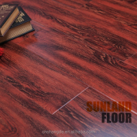 High Quality Crystal Wax Sealing Maple Laminate Flooring