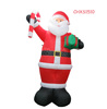 Holiday Inflatable Santa Claus Christmas Decorating Inflatable Toys for Kids