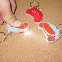 promotional cheap plastic PVC Key chain/Soft Plastic Key Tag /Wholesale key tags