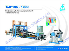 Plastic PP Sheet Forming Extrusion Machine