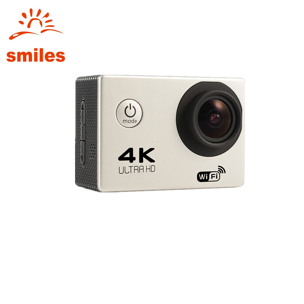 China Supplier Wifi Sports Digital Video <strong>Camera</strong> 4K With Waterproof Case