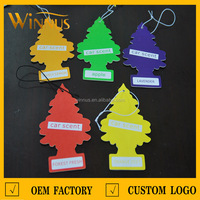 wholesale personalized little tree car scent air freshener