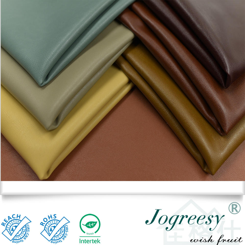 Breathable PU sofa leather material