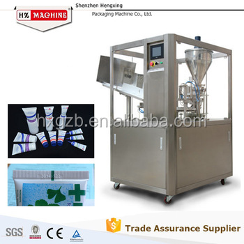 China Supplier Hot Sale Cosmetics Paste Facial Cream Toothpaste Tubes Filling Sealing Machine With Good Price