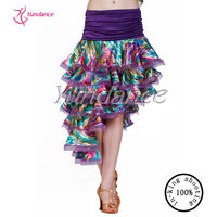 2016 Hot Sale Latin Sexy Skirt Dance For Practice Girls Costume Dance Shirt AB008
