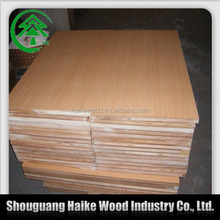 2014 cheap mdf cherry wood veneer panel