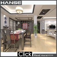 HY615P Marfil Polished Porcelain Tile Manufacturer , Villa Glazed Porcelain Tile