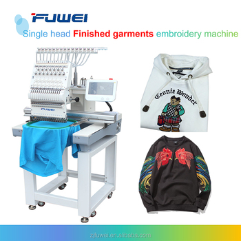 Single Head computerized embroidery machine price in india for cap and T-shirt sewing machine