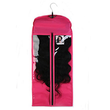 Foldable custom hair extension hanger bags