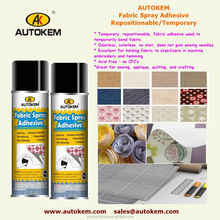 adhesive spray Fabric spray adhesive textile adhesive spray temporary/repositional/restickable adhensive spray