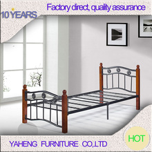 Look nice hand-forged comfortable wrought iron bed, metal bed furniture
