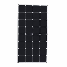 High efficiency A Grade sunpower 300w 200w 100w 50w black solar panel