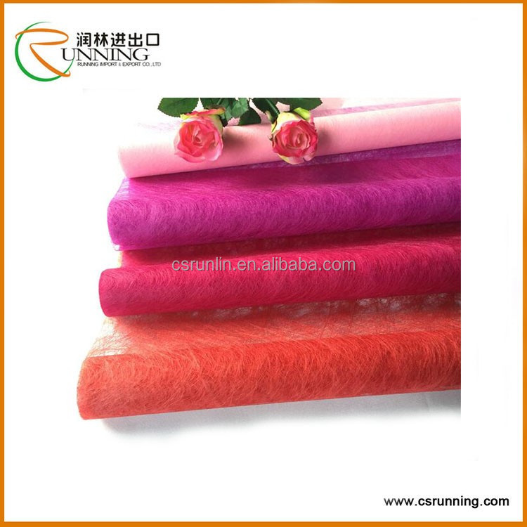 Thin Nowoven Fabric for Wrapping,Wrapping Material Felt