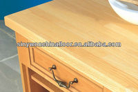 Finger joint UV Lacquer Ash wood worktop